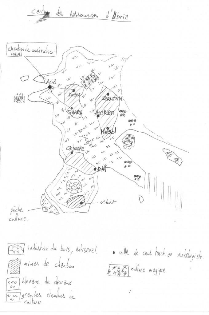 les ressources d'Ubria